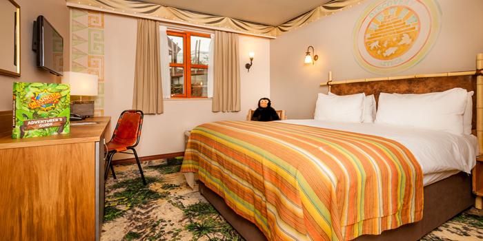 Chessington Azteca Hotel Discovery Room