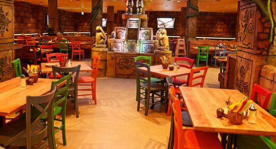 Temple restaurant